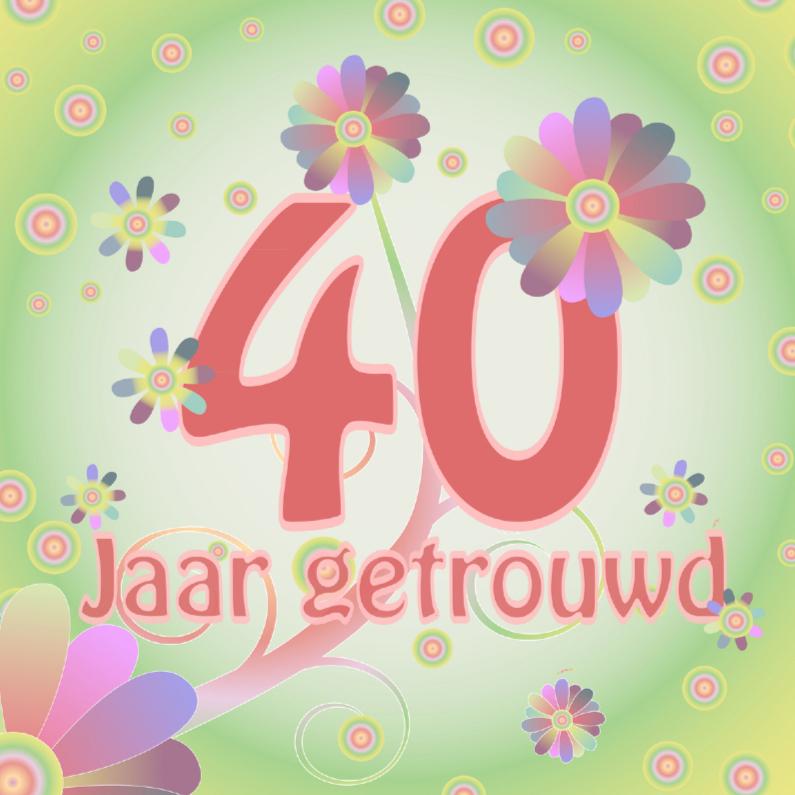 40 Jaar Normaal Kaarten