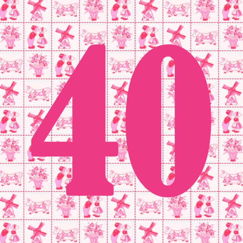 Jarig 40