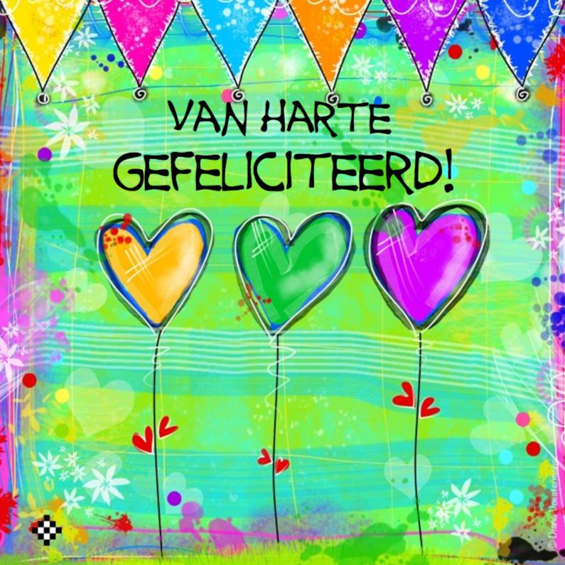 Van Harte Gefeliciteerd 3 Hartjes Pictures: www.gopixpic.com/414/van-harte-gefeliciteerd-3-hartjes/http:||www...