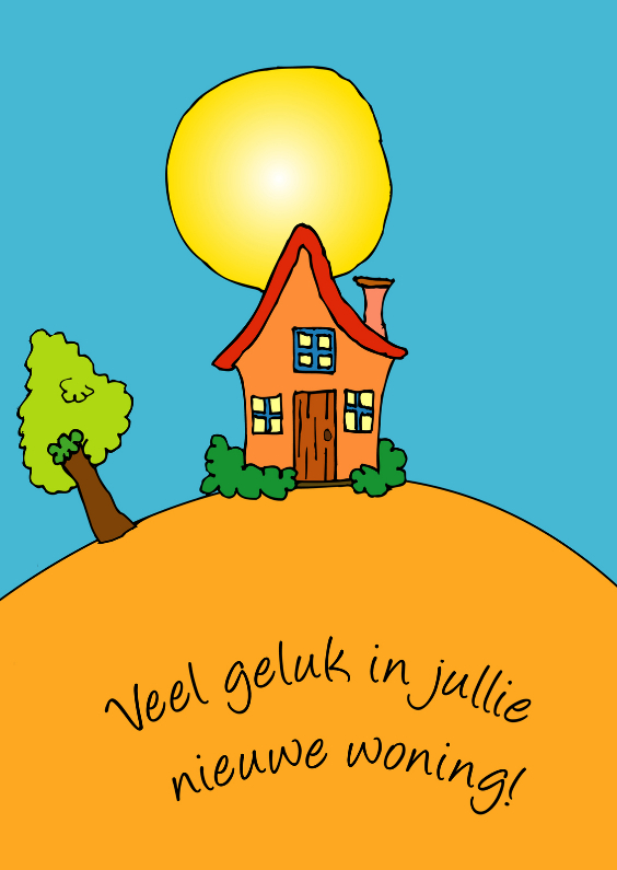 Extreem Veel Geluk In Jullie Nieuwe Woning IL84 | Belbin.Info @OP69