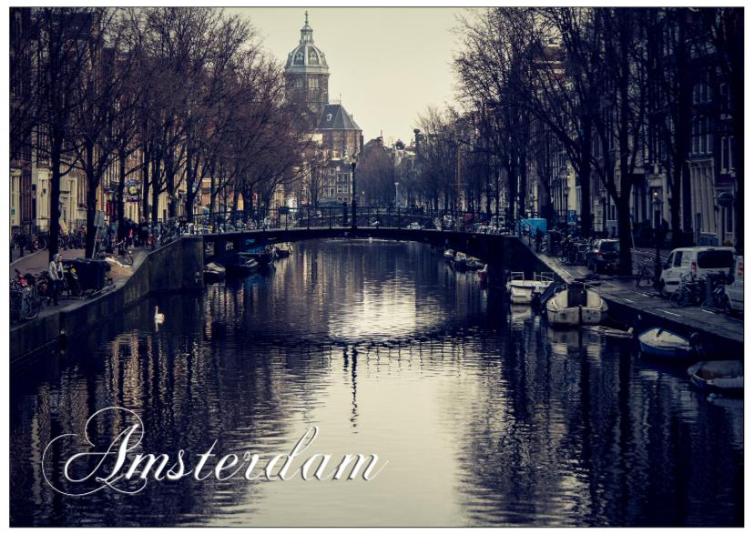 Ansichtkaarten - Amsterdam city