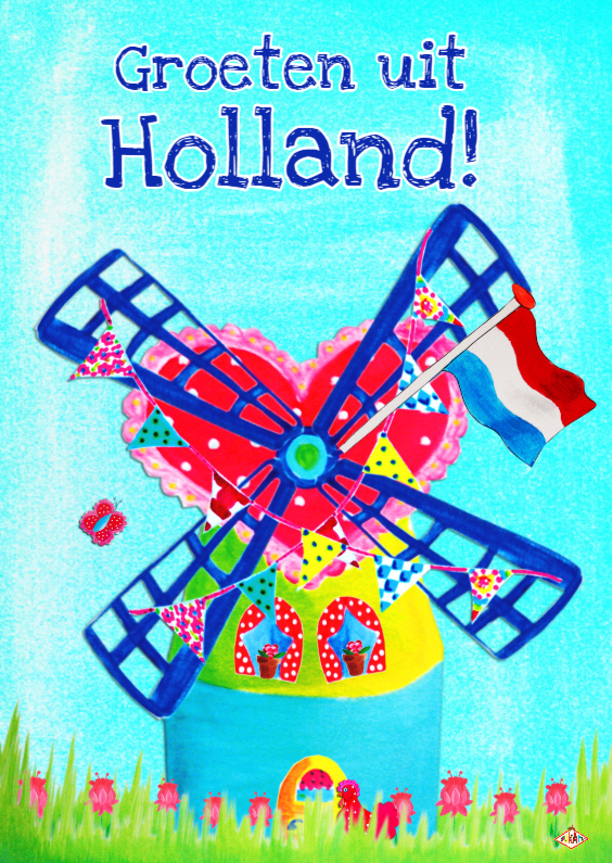 Ansichtkaarten - Ansichtkaart Holland PA