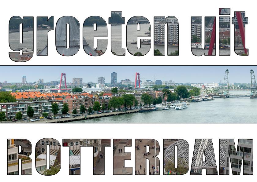 Ansichtkaarten - Ansichtkaarten Rotterdam MM