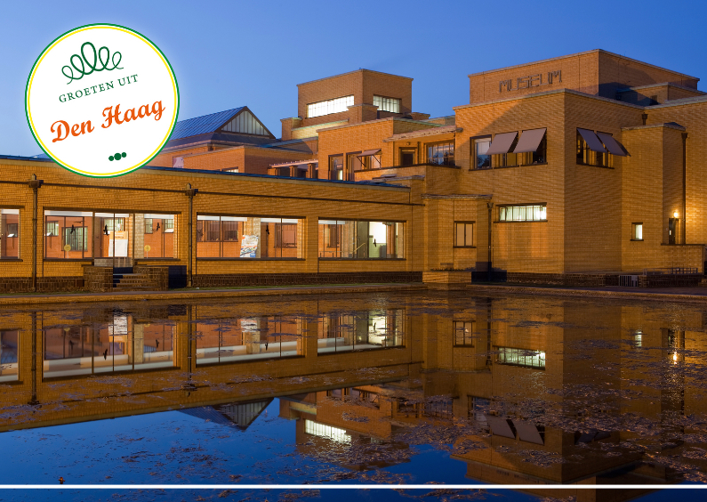 Ansichtkaarten - Gemeentemuseum Den Haag