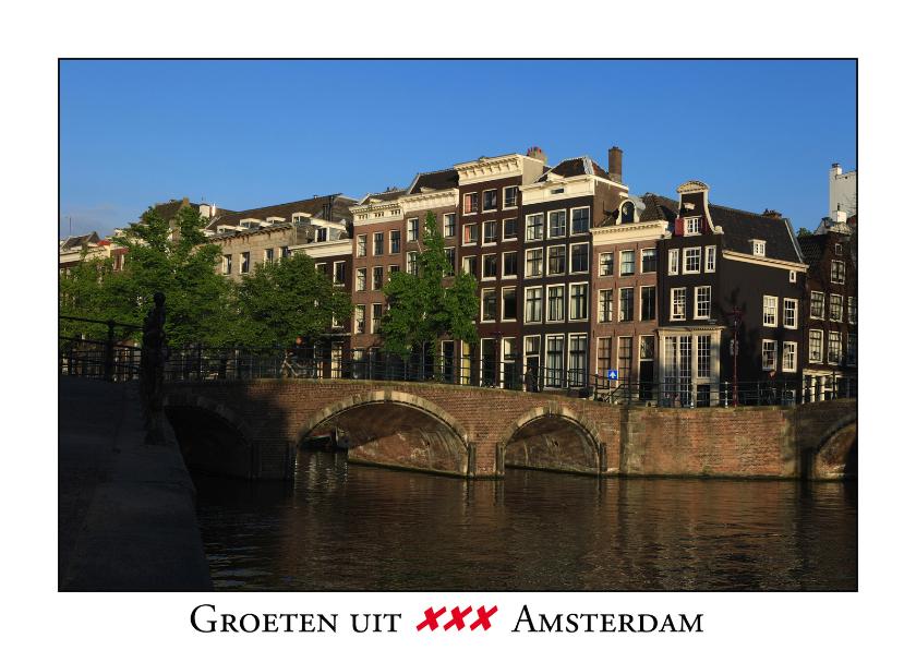 Ansichtkaarten - Groeten uit Amsterdam VIII