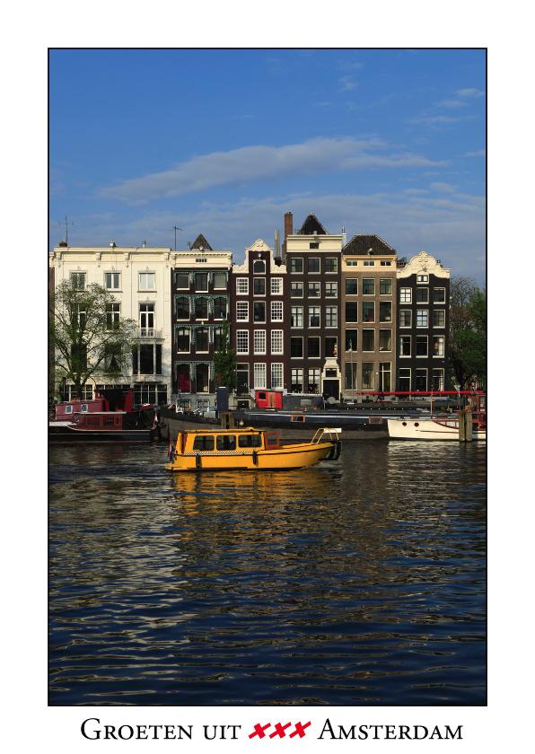 Ansichtkaarten - Groeten uit Amsterdam XVIII