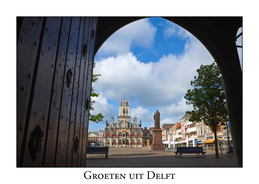 Ansichtkaarten - Groeten uit Delft IV