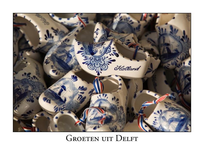 Ansichtkaarten - Groeten uit Delft V