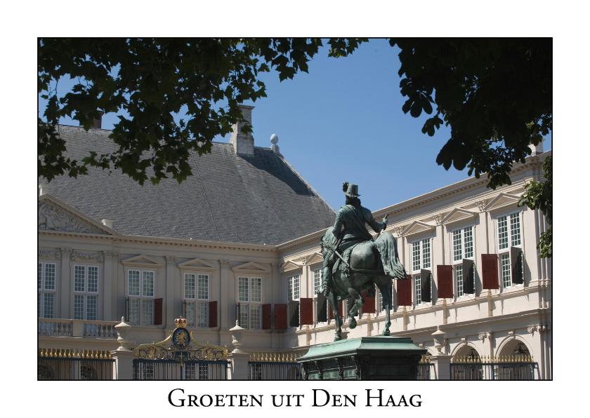 Ansichtkaarten - Groeten uit Den Haag XIII