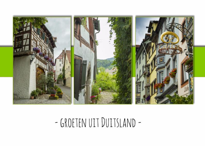 Ansichtkaarten - groeten uit Duitsland