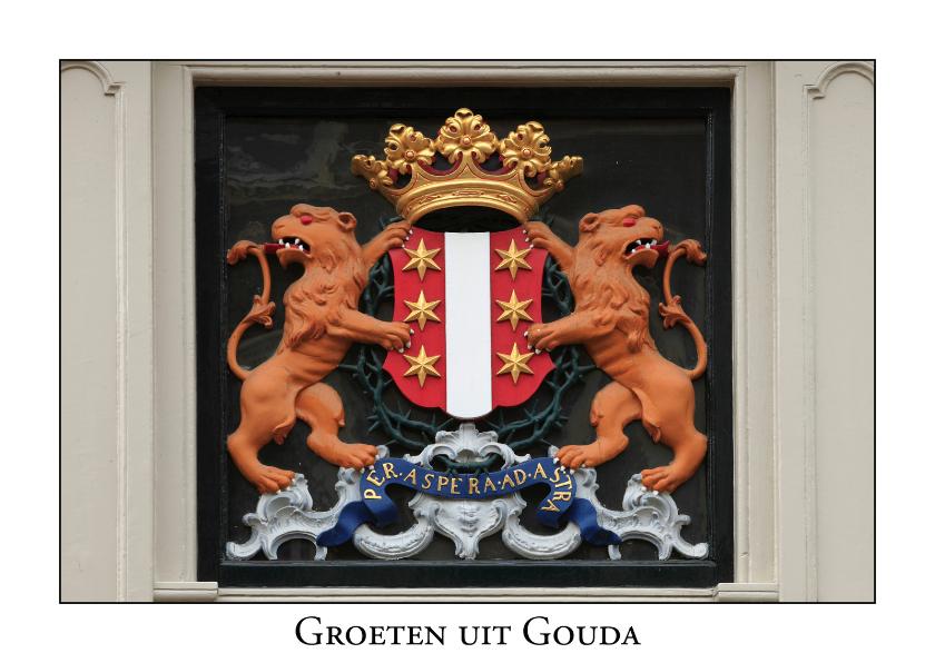 Ansichtkaarten - Groeten uit Gouda II
