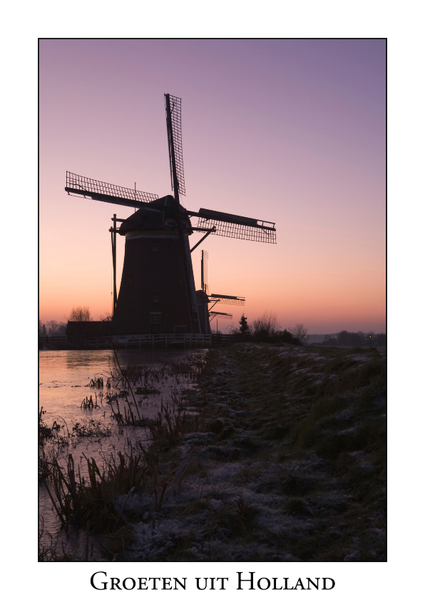 Ansichtkaarten - Groeten uit Holland XVII