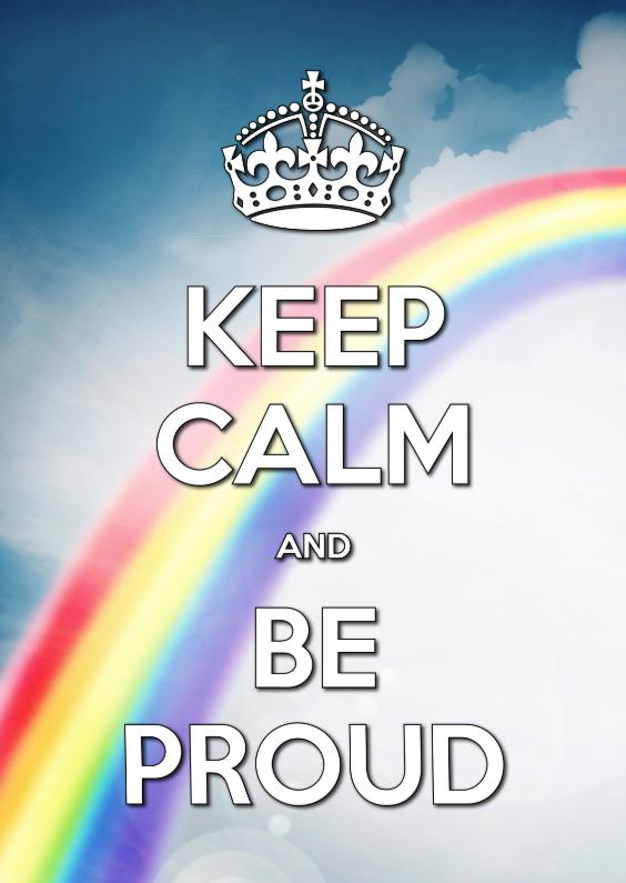 Ansichtkaarten - Keep Calm and Be Proud - SG