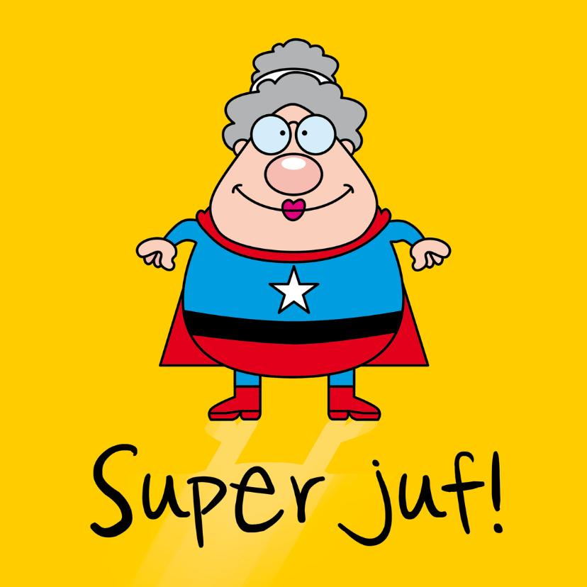 Bedankkaartjes - Super juf