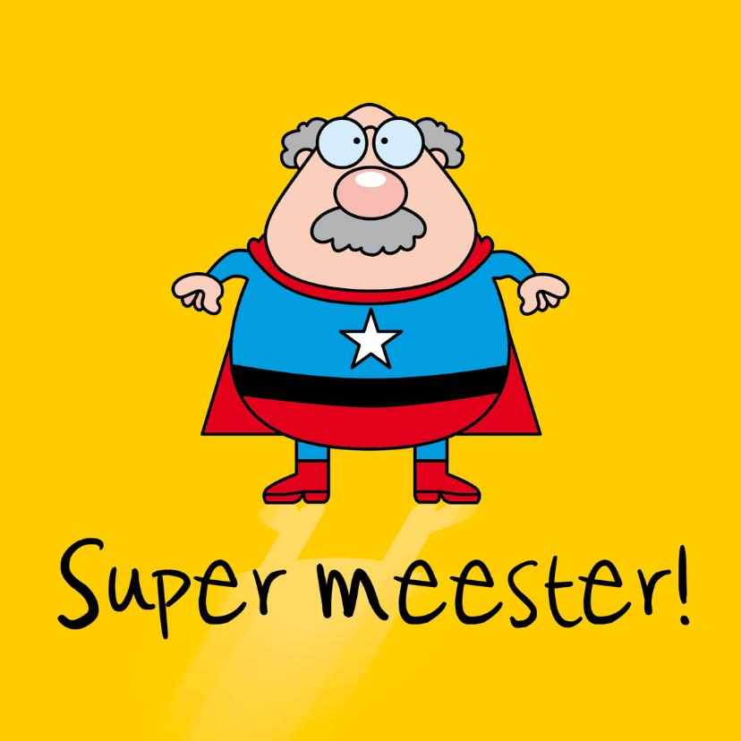 Zomaar kaarten - Super meester