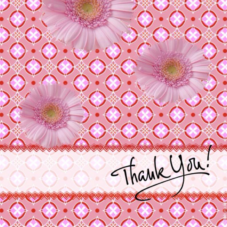 Bedankkaartjes - Thank You mixed media