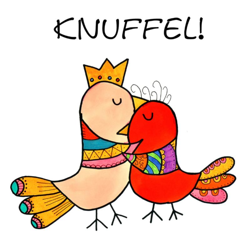 Bedankkaartjes - Vogel Knuffel