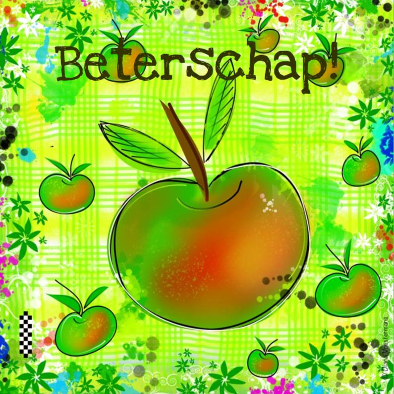 Beterschapskaarten - Beterschap appeltjes CYL