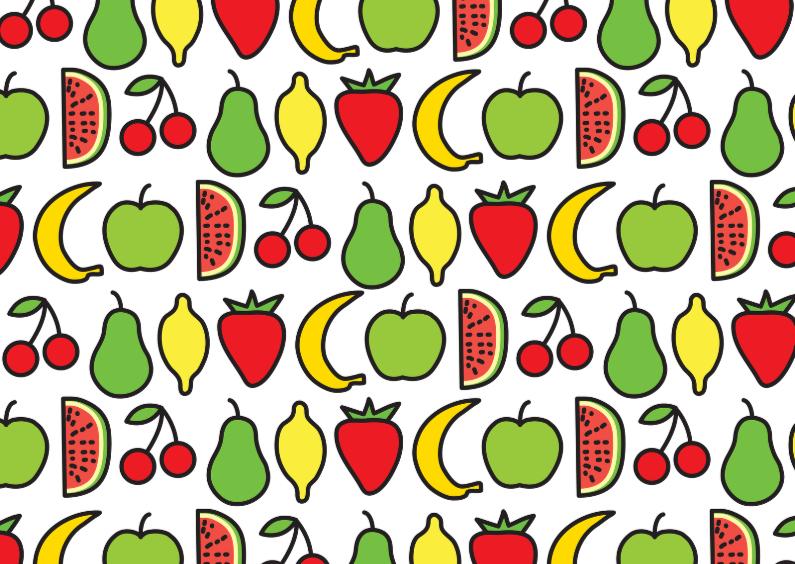Beterschapskaarten - Beterschap Fruit Appel