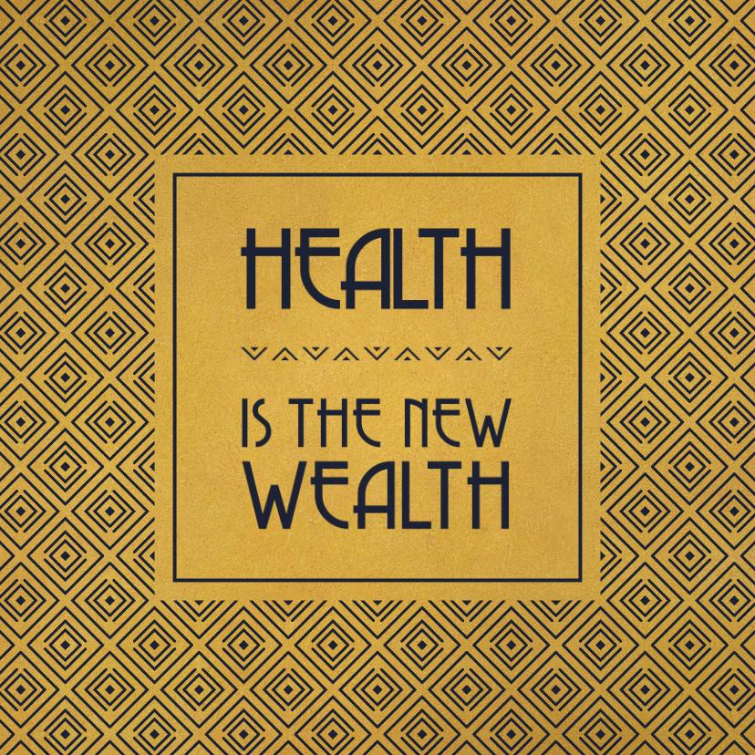 Beterschapskaarten - Beterschap Health is the new wealth