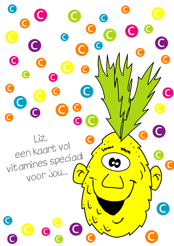Beterschapskaarten - Beterschap kind vitamines - SZ