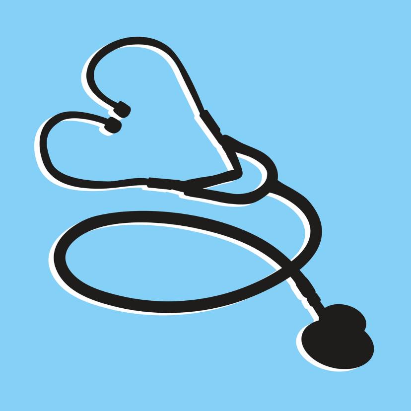 Beterschapskaarten - Beterschap stethoscoop