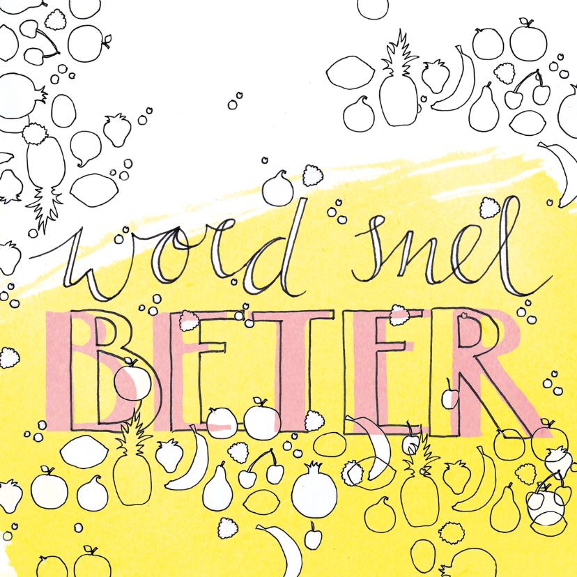 Beterschapskaarten - Beterschap Word snel beter