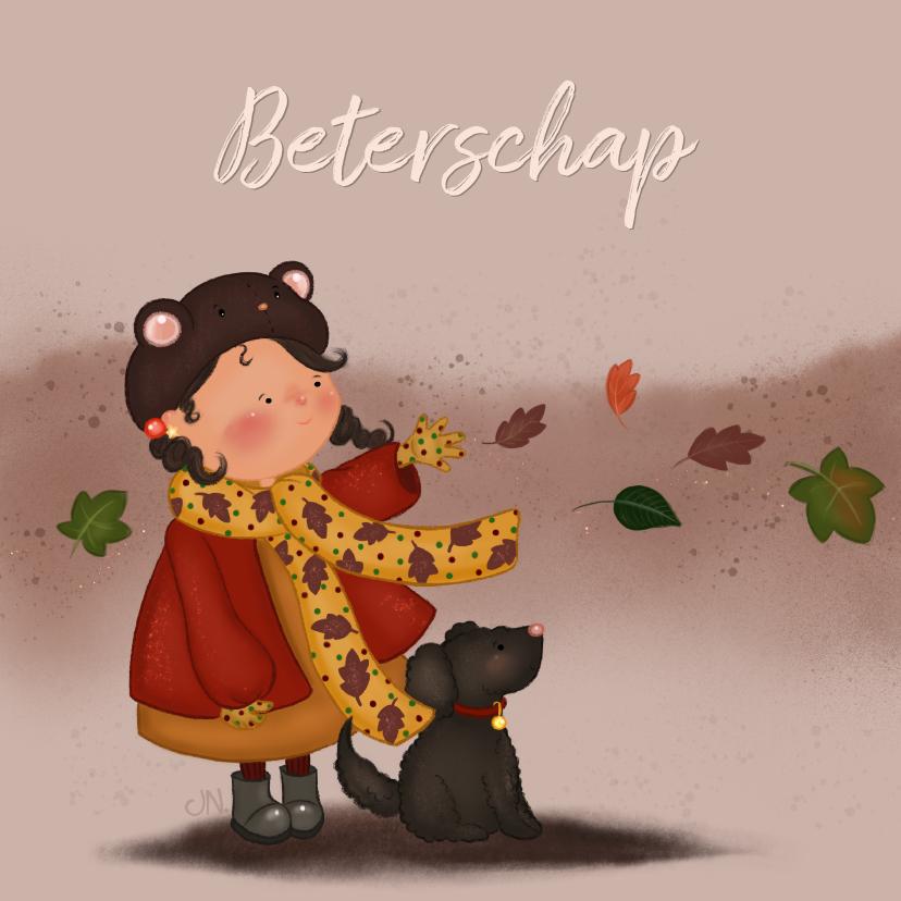 Beterschapskaarten - Beterschapskaart life of Lolli herfst