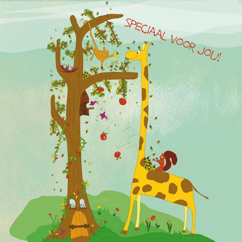 Beterschapskaarten - Een giraffe om op te vrolijken