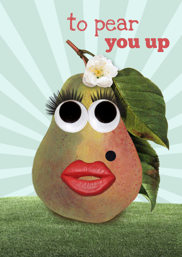 Beterschapskaarten - Een toffe peer to pear you up!