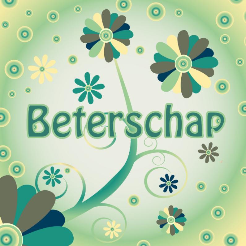 Beterschapskaarten - flowerpower2 beterschap