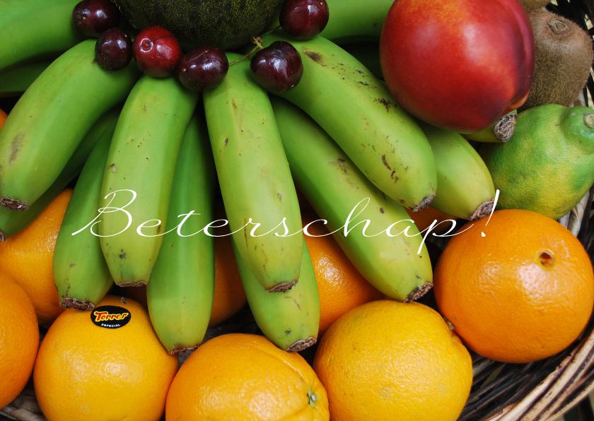 Beterschapskaarten - Fotokaart fruit