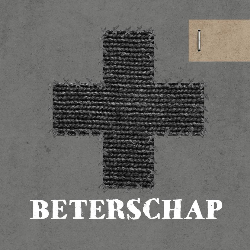 Beterschapskaarten - Kaart Beterschap kruis