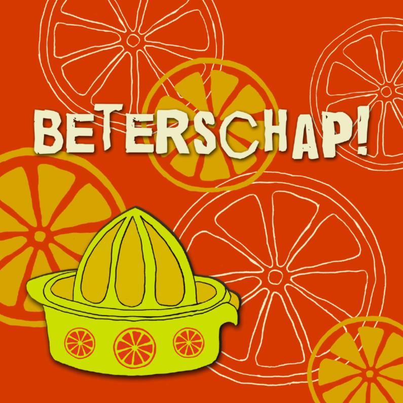 Beterschapskaarten - Sinaasappels beterschap