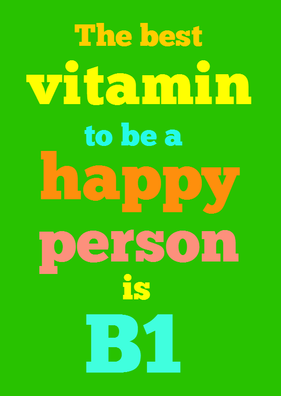Beterschapskaarten - Vitamine B1