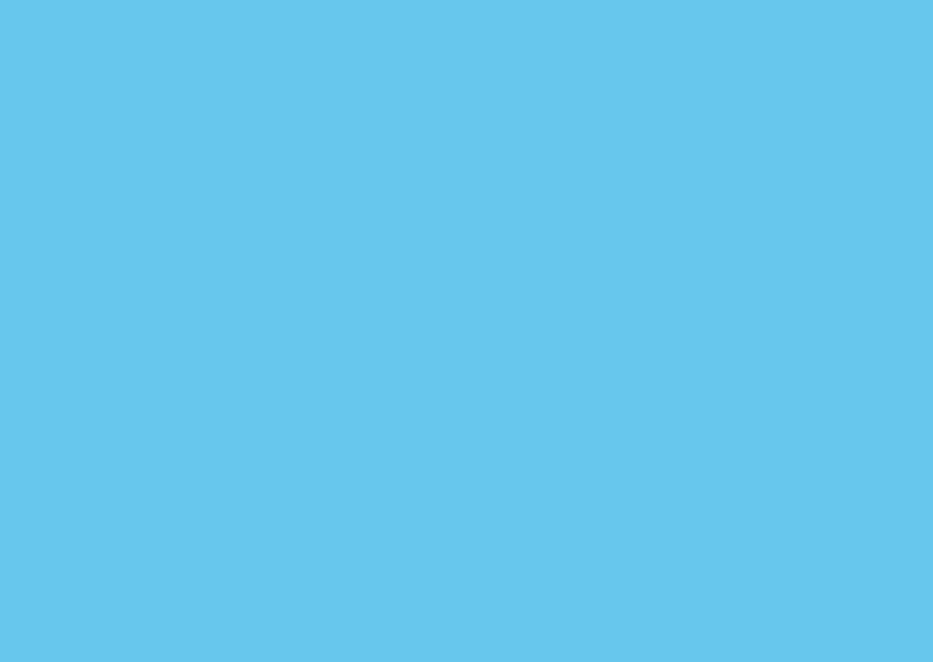 Blanco kaarten - Blauw dubbel liggend