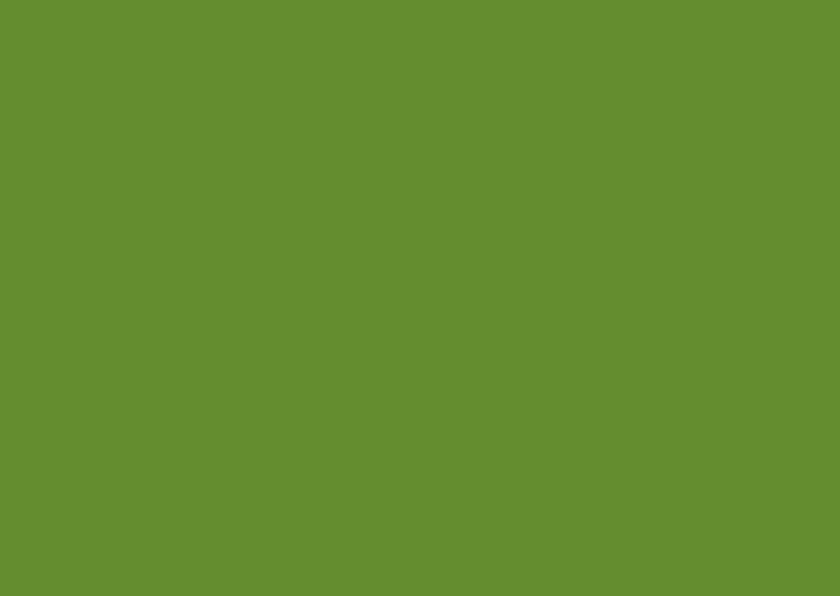 Blanco kaarten - Donker groen enkel liggend