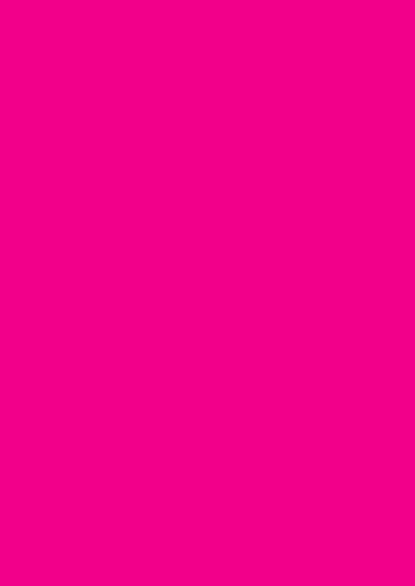Blanco kaarten - Fel roze staand dubbel