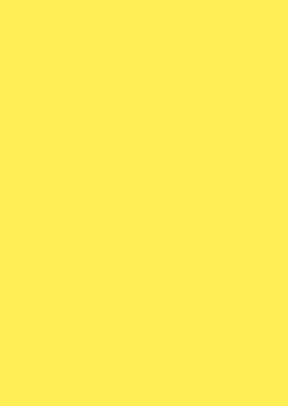 Blanco kaarten - Kies je kleur gele staande kaart