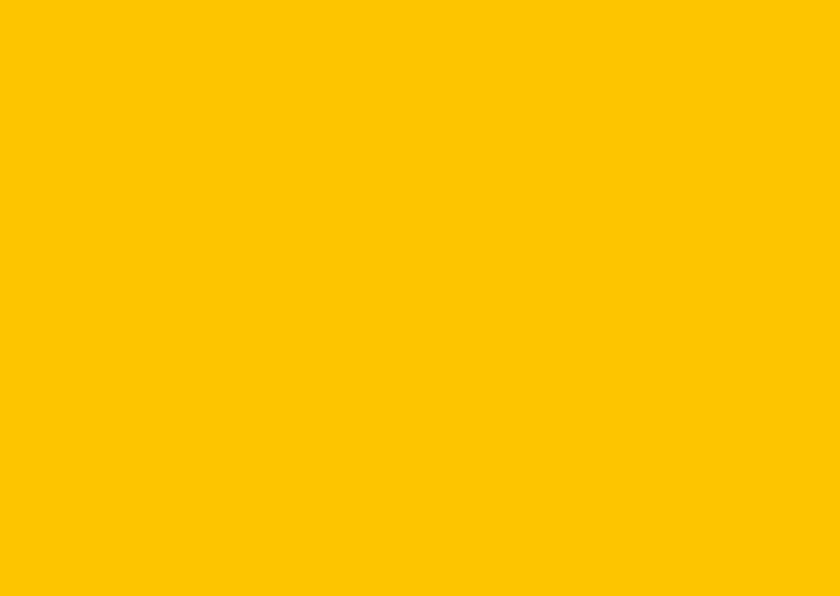 Blanco kaarten - Oker geel enkel liggend