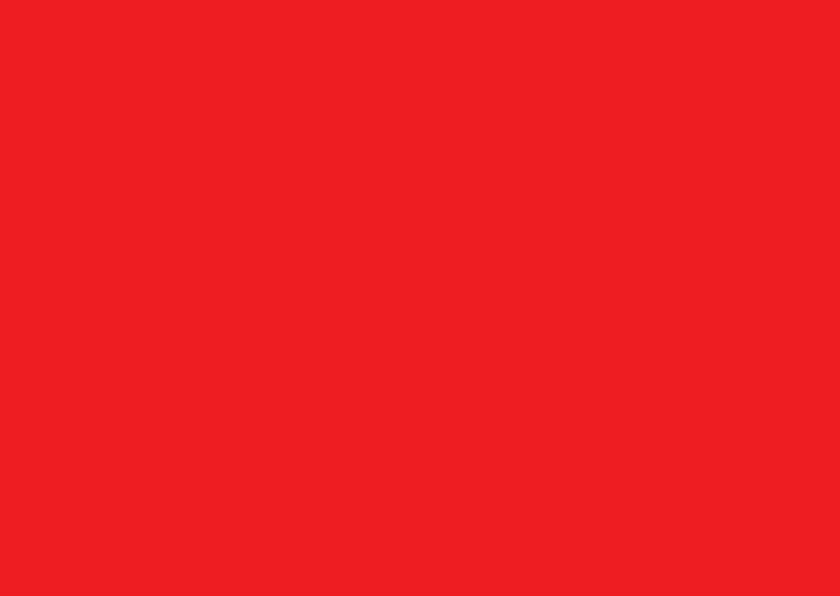 Blanco kaarten - Rood liggend dubbel