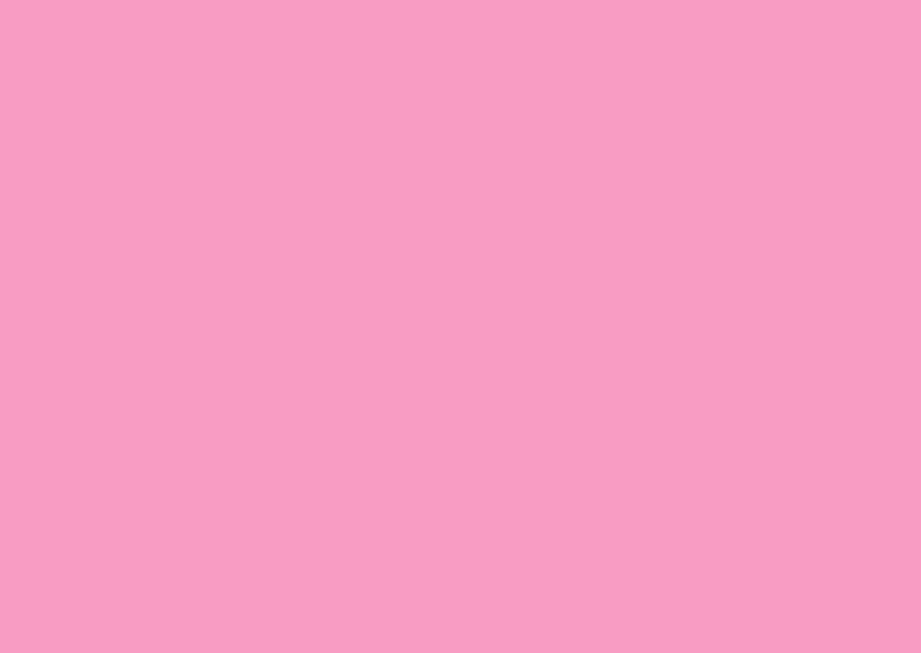 Blanco kaarten - Zacht roze liggend dubbel