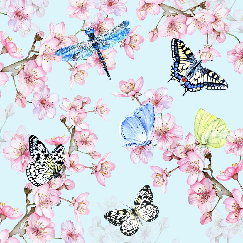 Bloemenkaarten - Bloemen in het voorjaar