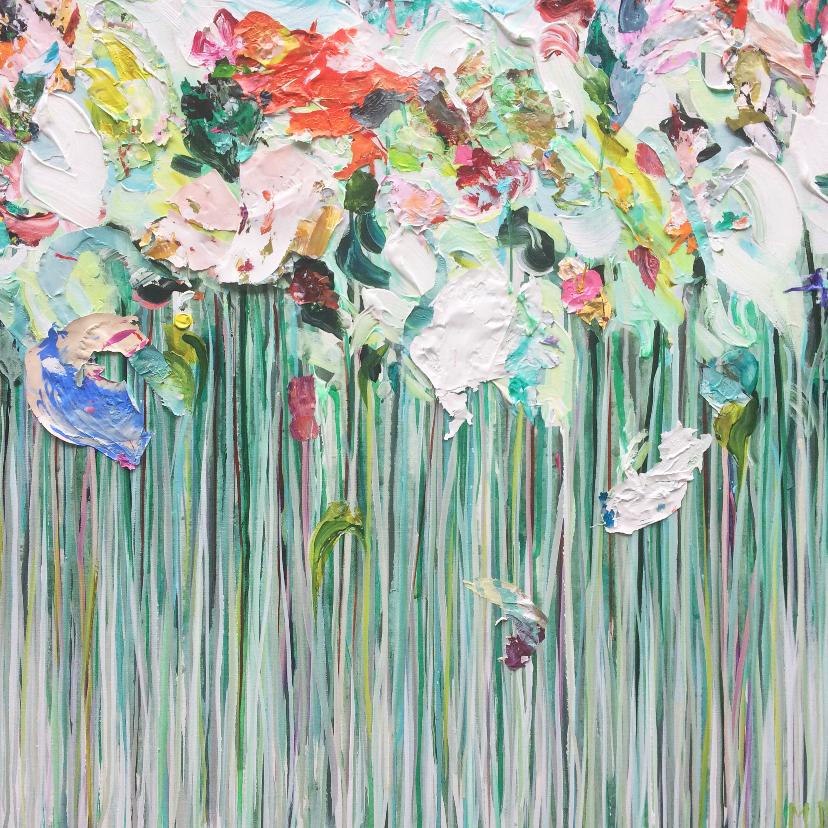 Bloemenkaarten - Bloemen tuin mix