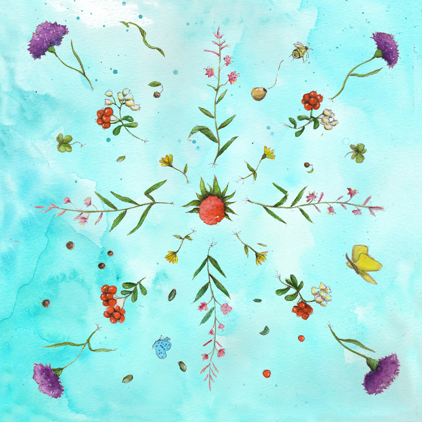 Bloemenkaarten - Bloemen voor moeder natuur