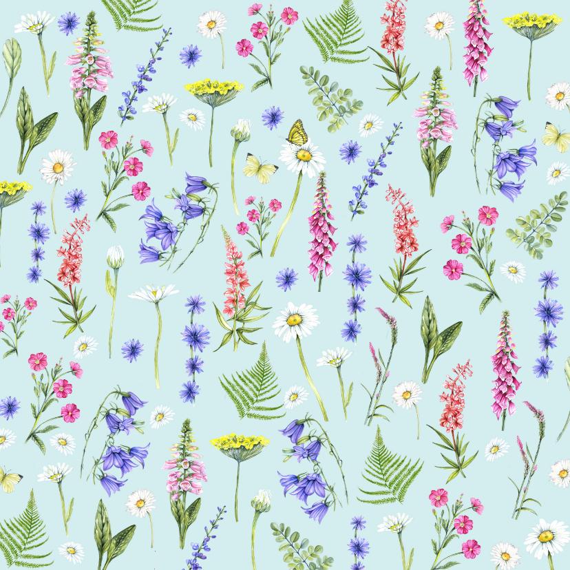 Bloemenkaarten - Bloemen voorjaar