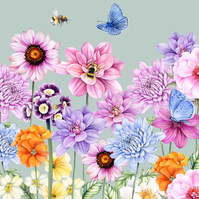 Bloemenkaarten - Bloemen zomer