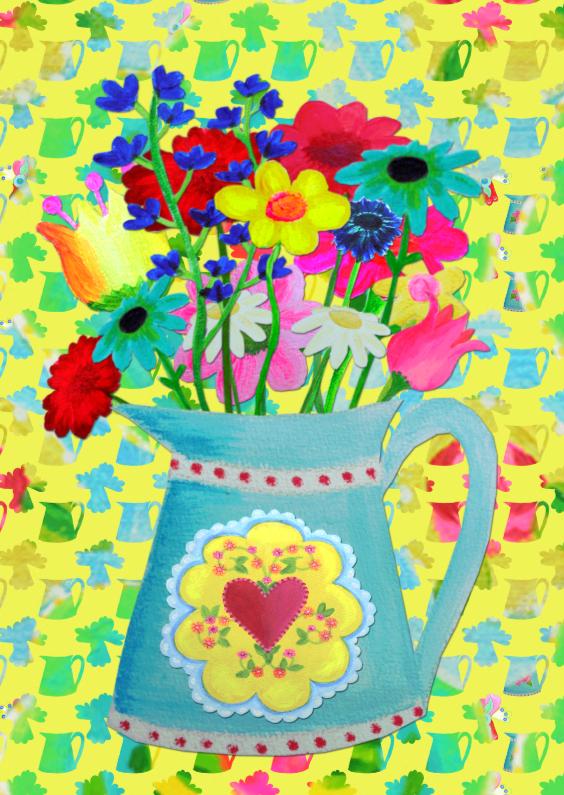 Bloemenkaarten - Bloemenkaart Bloem PA