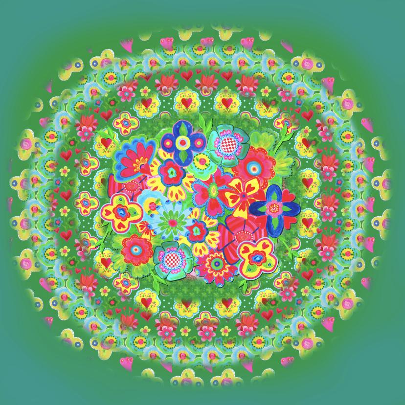 Bloemenkaarten - Bloemenkaart Mandela PA
