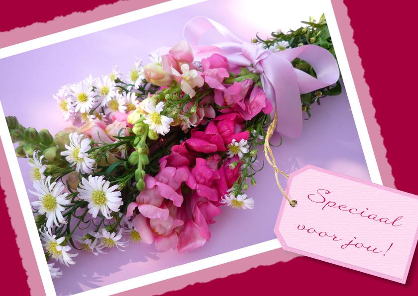 Bloemenkaarten - Bloemenkaart Speciaal boeket
